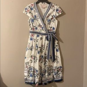 Floral ballerina dress NWT